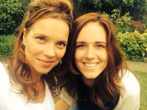 Paloma (L) & Sanne (R)
