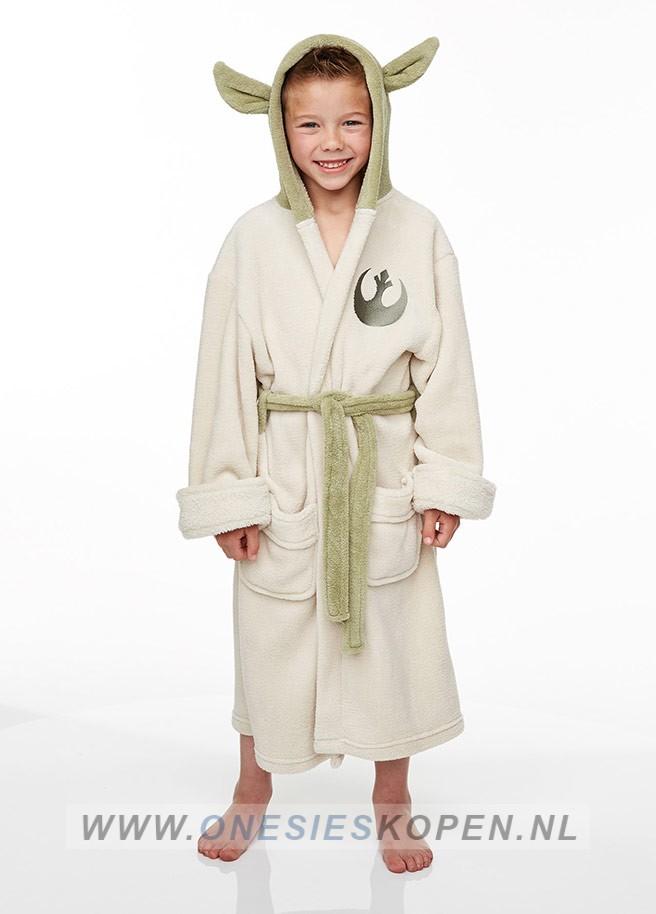 7a74fd37d21 Officiële STAR WARS Yoda Badjas kids