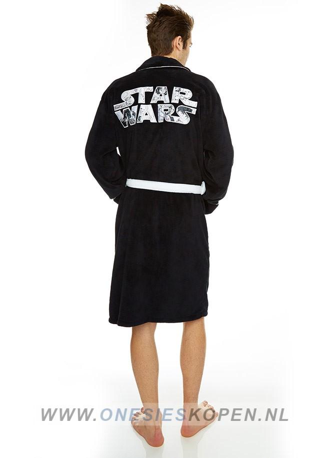 0e2ad16b0f8 Officiële Star Wars Badjas zwart