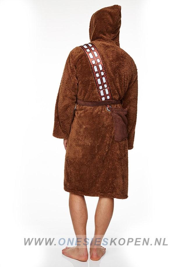 25d681a59ca Officiële STAR WARS Chewbacca Badjas - OnesiesKopen.nl