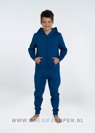 Blauwe onesie comfy uniseks kids