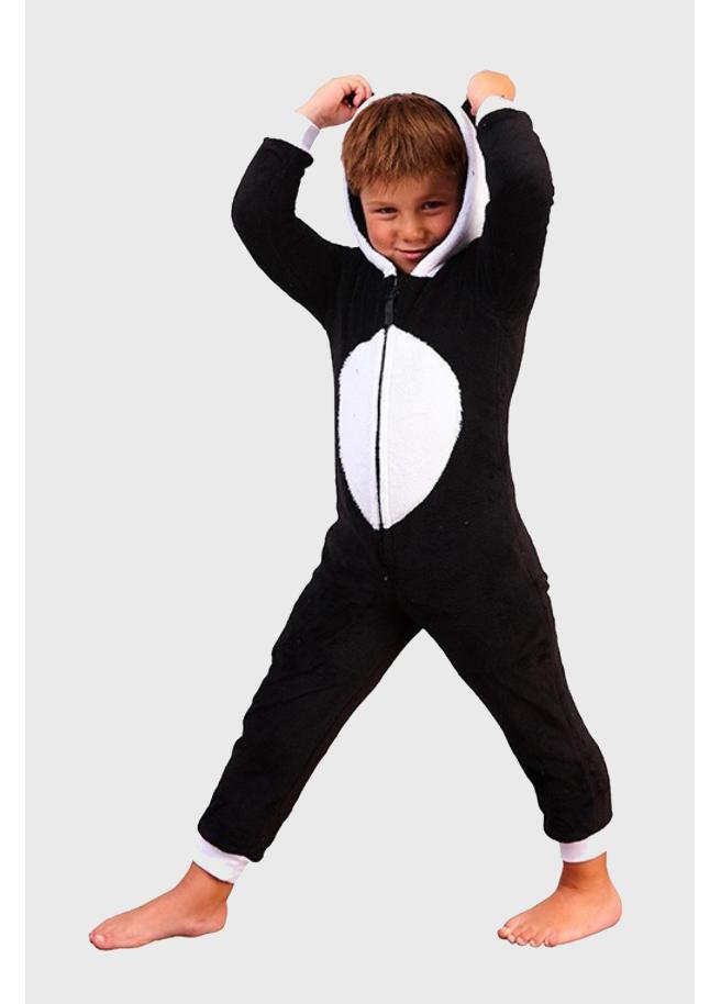 Panda onesie kids