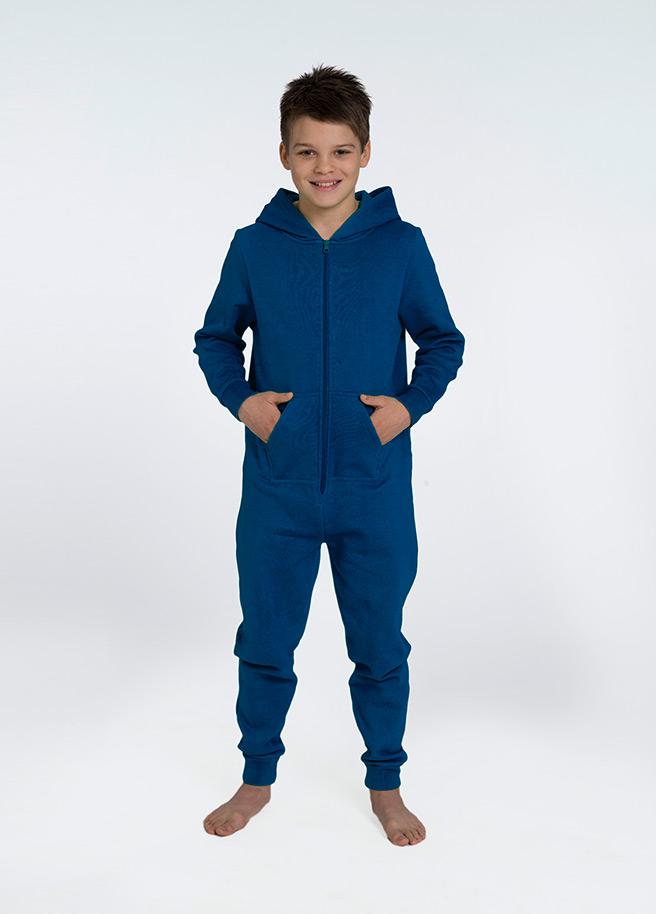 blauwe onesie comfy kids