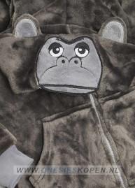 Gorilla onesie kids detail