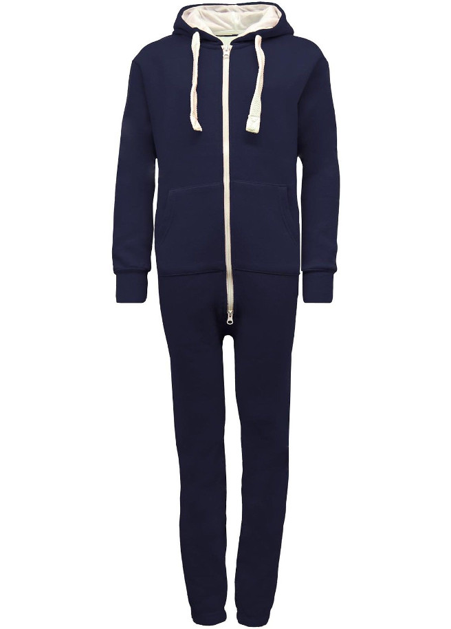 kids dark navy onesie