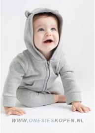baby peuter onesie grijs jongen