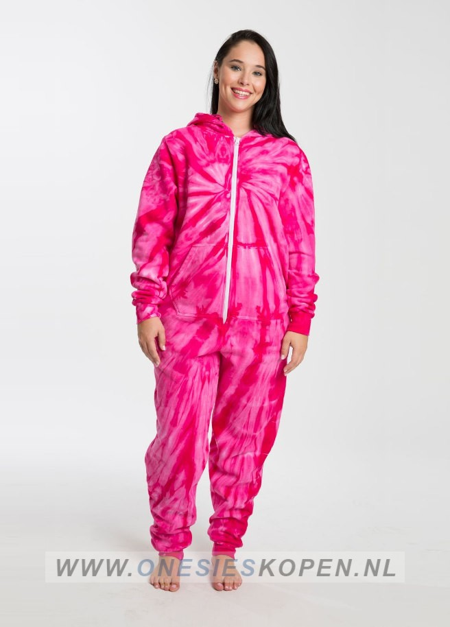 Onesie pink festival madness_colortone_tie_dye_