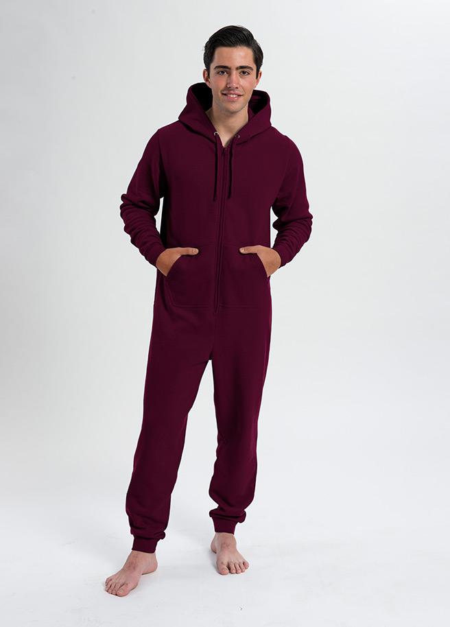 comfy onesie unisex-bordeaux burgundy