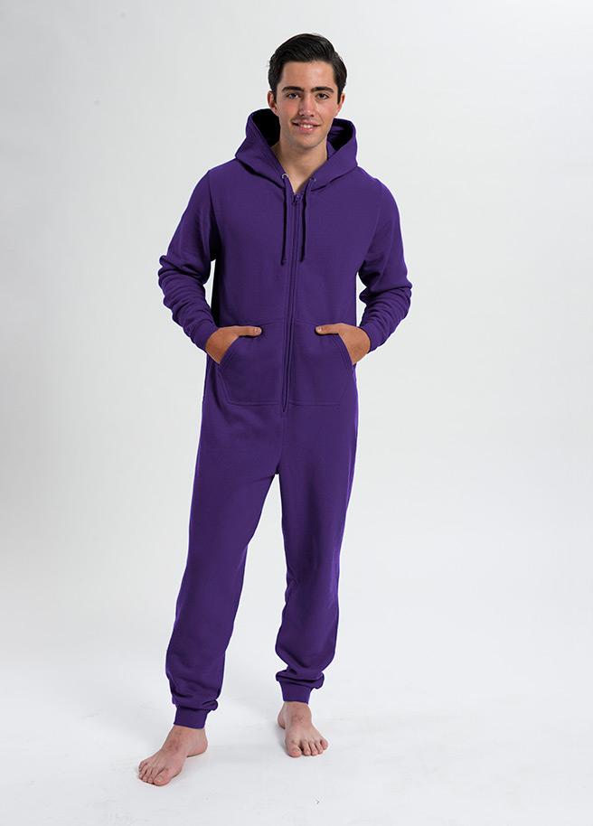 comfy onesie unisex-paars purple