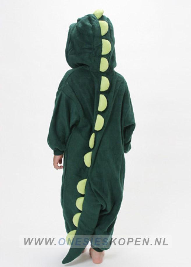 dinosaurus onesie kids achter