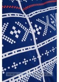 onesie blauw kids aztecprint voor detail