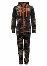 Camouflage legerprint onesie