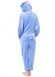 Onesie stitch blauw back