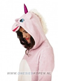 unicorn onesie pink zij