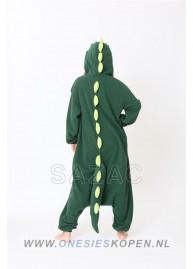 sazac dinosaurus onesie dinosaur back