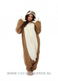 sazac luiaard onesie sloth