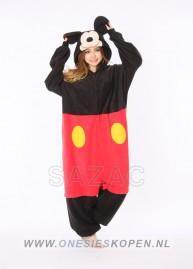 Disney Mickey Mouse onesie kigurumi sazac voor