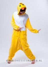 eend onesie duck kigurumi front