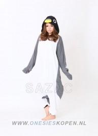 Pinguin onesie kigurumi sazac voor