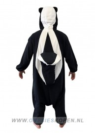 Stinkdier onesie kigurumi sazac achter