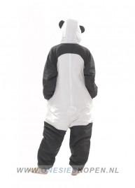 oneski skigurumi panda ski onesie back
