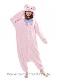 sazac-teddybeer-roze-voor