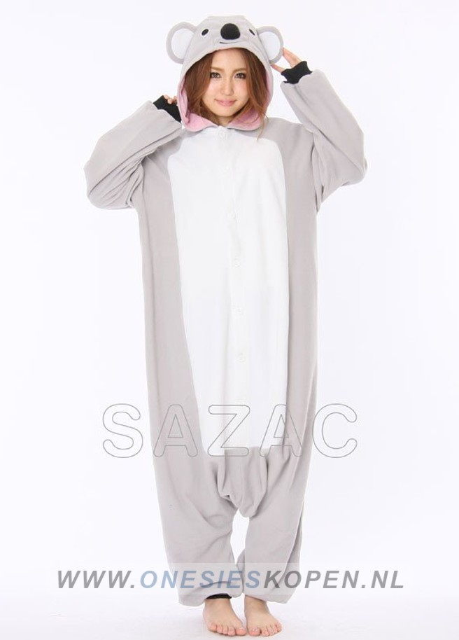 Jumpsuit Out Dresses Onesies Cosplay Costumes And Accessories Imprinte Koala Onesie Sazac Onesieskopennl