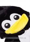 pinguin onesie voor kinderen detail