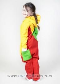 sofakiller_tricolor_LTU_kids_unisex_onesie_back