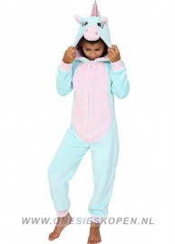 Onesie Aqua Unicorn kids