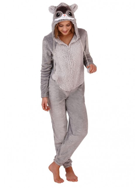 Chinchilla onesie front