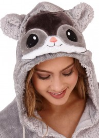 Chinchilla onesie front detail