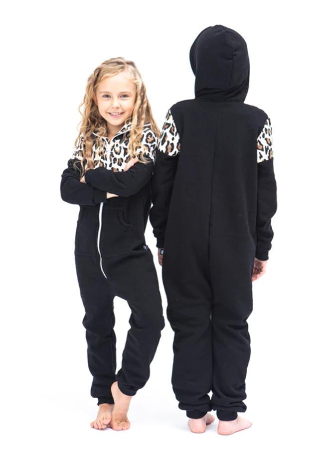 SofaKiller onesie leopard luipaard kids back
