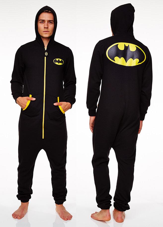 batman onesie voor achter