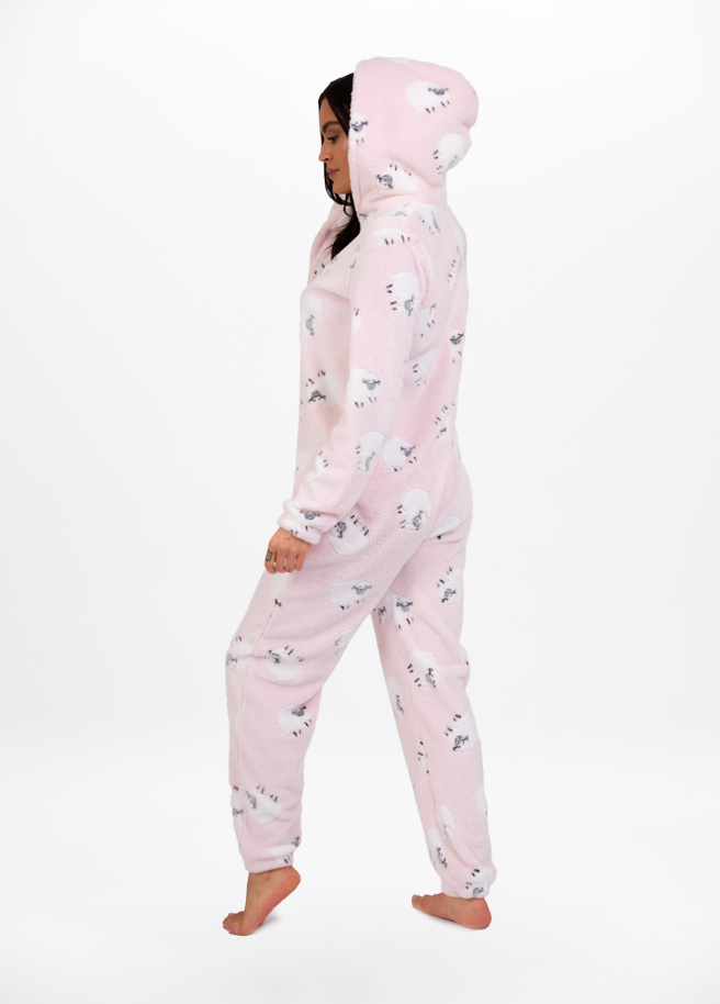sheepprint onesie schaapjesprint Side